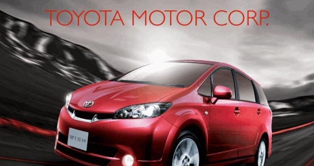 Анализ деятельности Toyota Corporation в 2017 финансовом году