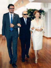 Giovanni, Michele и Maria Franca Ferrero